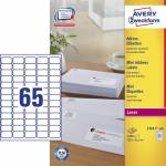 "Adresse-etikett ""Avery"" (38,1 x 21,2mm), 100 ark"
