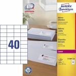 "Adresse-etikett ""Avery"" (52,5 x 29,7mm)"