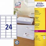 "Adresse-etikett ""Avery"" (63,5 x 33,9mm)"