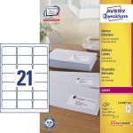 "Adresse-etikett ""Avery"" (63,5 x 38,1mm)"