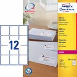 "Adresse-etikett ""Avery"" (63,5 x 72mm)"