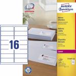 "Adresse-etikett ""Avery"" (99,1 x 33,9mm)"