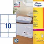 "Adresse-etikett ""Avery"" (99,1 x 57mm),"